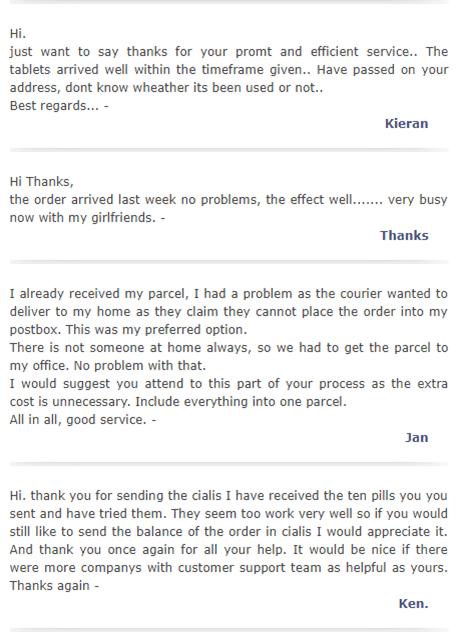 Texas Chemist Customer Testimonials